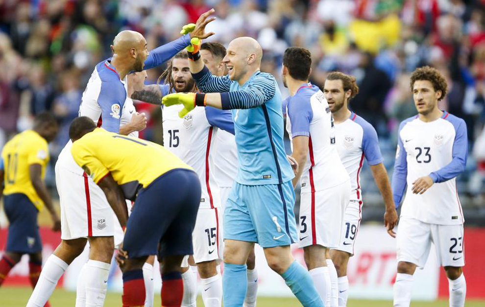 Estados Unidos feliz en semifinales en Copa América Centenario
