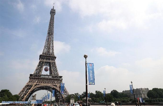 Francia refuerza seguridad para torneo de fútbol Eurocopa 2016