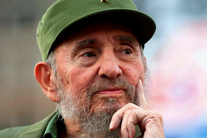 Fidel nunca se poncha