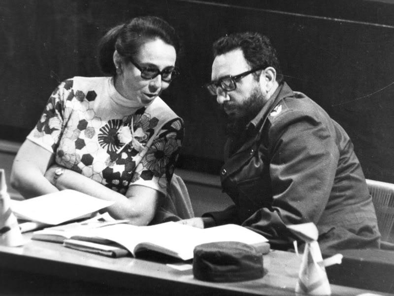 Fidel y Vilma