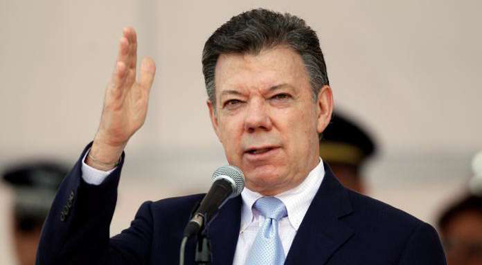 Santos optimista por acuerdo con FARC-EP sobre cese el fuego