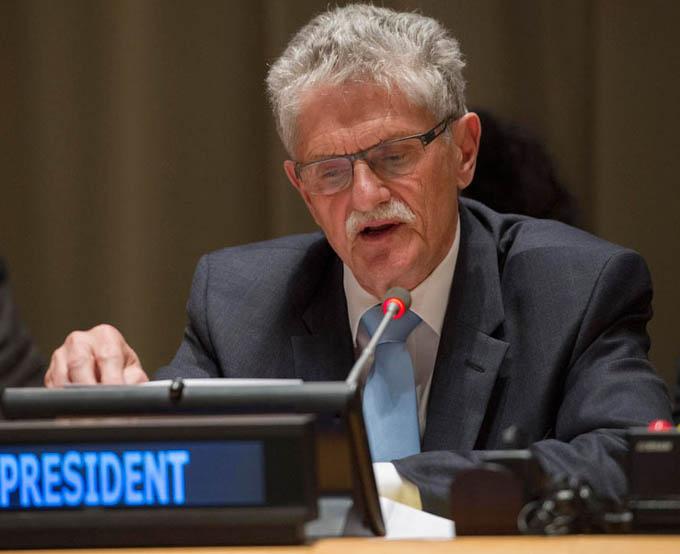 Visita Cuba autoridad de Asamblea General de la ONU