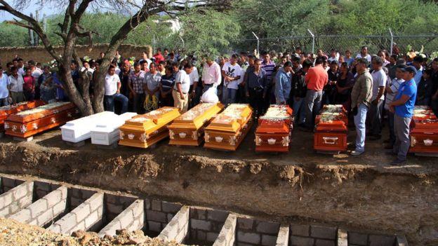La venganza detrás de la masacre de una familia de 11 en México