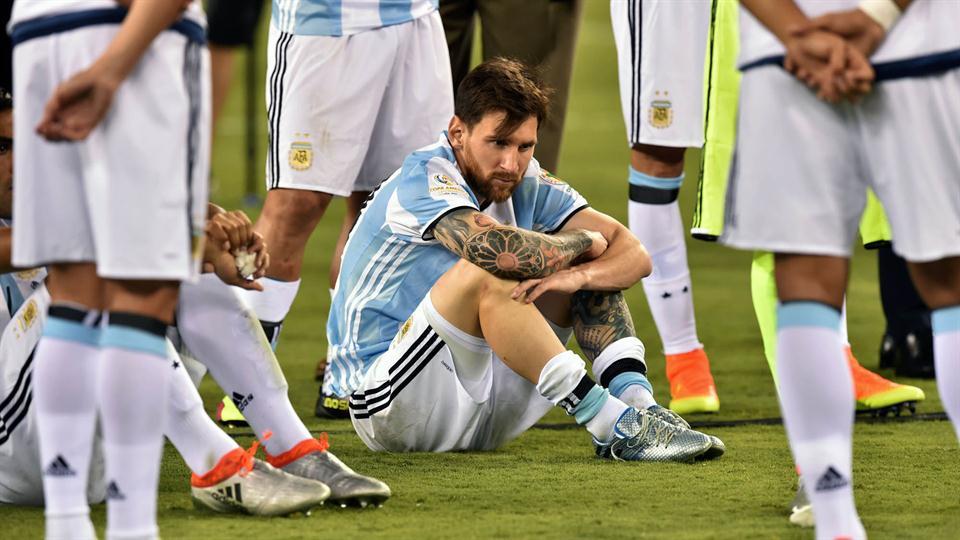 Messi falla un penal, Copa América