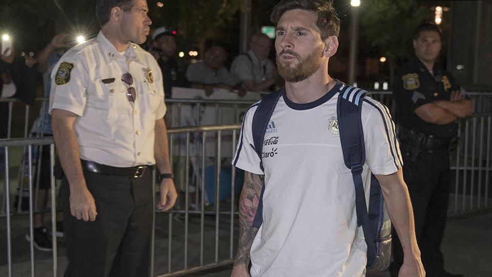 """""""La selección se terminó para mí"""", Messi (+ fotos y video)"""