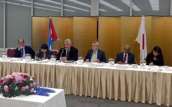 Liga parlamentaria nipona expone alto interés en cooperación con Cuba