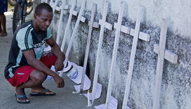 Cada día, 29 niños y adolescentes son asesinados en Brasil