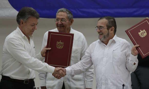 El acuerdo de cese del fuego en Colombia es un hecho en La Habana (+ Texto del Acuerdo)