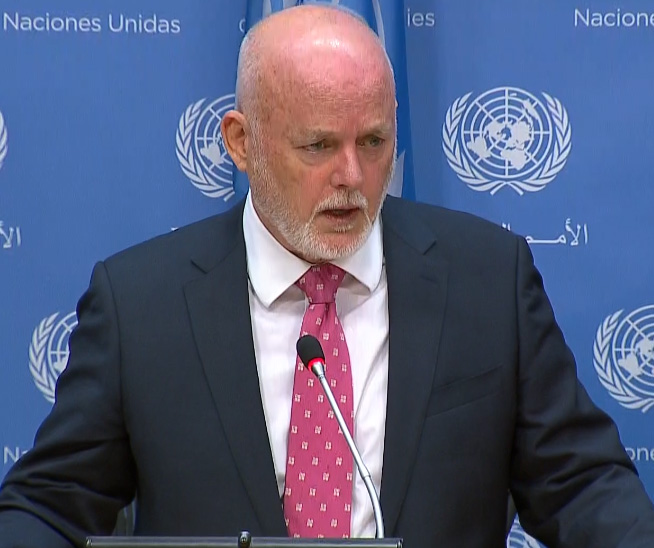 Electo Peter Thomson de Fiji presidente de Asamblea General ONU