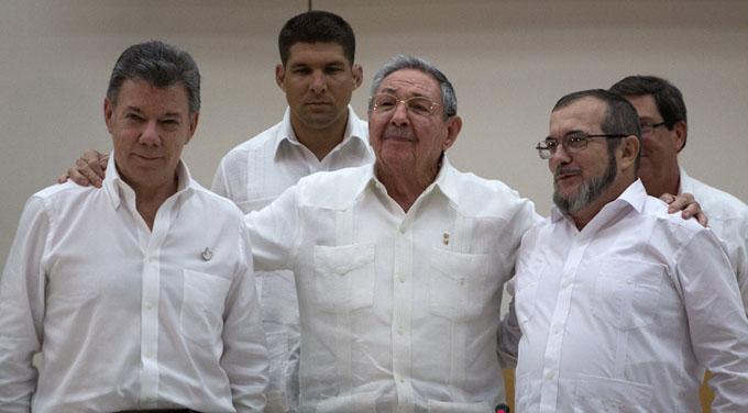 Firma de Acuerdos entre el Gobierno de Colombia y las FARC-EP (en vivo)