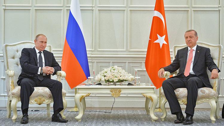 Putin ordenará al Gobierno empezar a negociar con Turquía