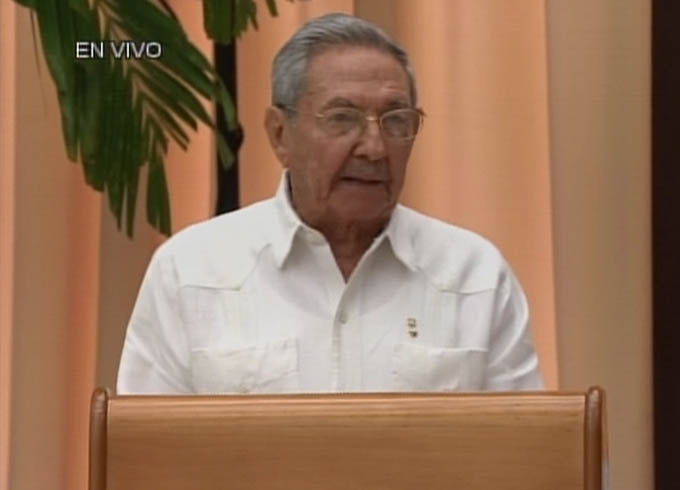 El proceso de paz en Colombia no tiene vuelta atrás, Raúl Castro