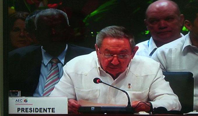 Cuba jamás ingresará a la OEA, reafirma Raúl Castro