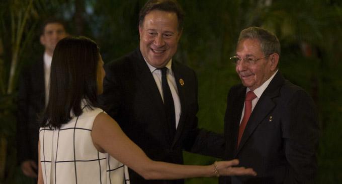 Recibe Raúl a jefes de delegaciones a VII Cumbre caribeña