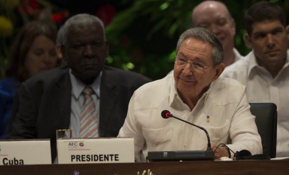 Discurso de Raúl Castro al inaugurar VII Cumbre de la AEC