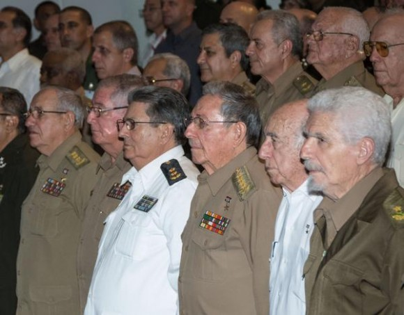 Preside Raúl acto por aniversario 55 del Ministerio del Interior