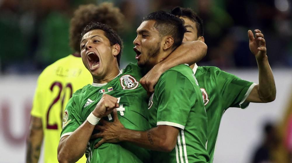 México iguala con Venezuela y clasifica primero del Grupo C