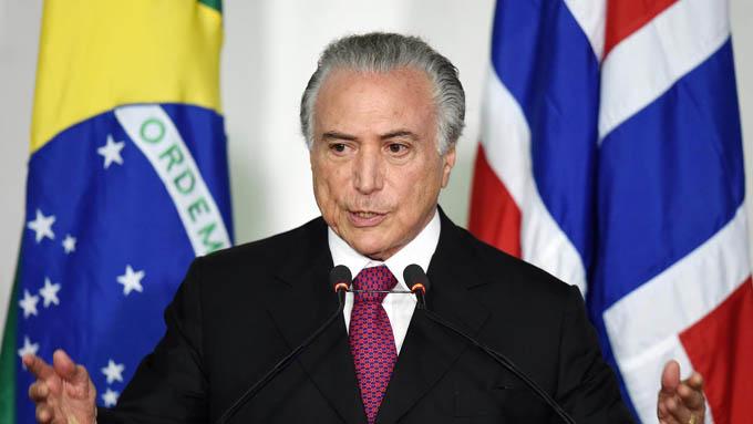 Crece rechazo a Presidente provisional de Brasil, según encuesta