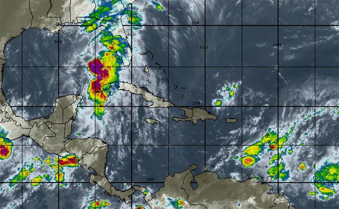 Colin penetrará en tierra esta noche por el noroeste de la Florida