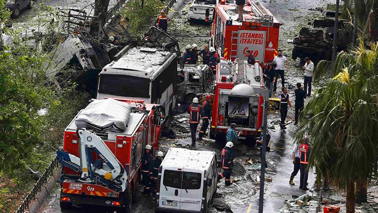 Una explosión deja al menos 11 muertos y decenas de heridos en el centro de Estambul
