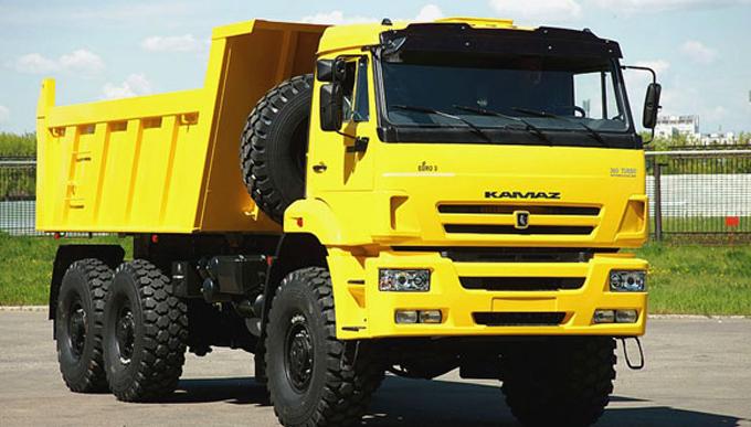 Camiones rusos Kamaz llegarán a Cuba en julio