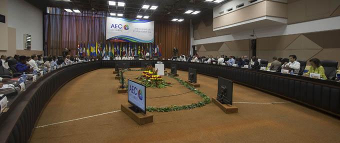 Excelente espíritu de trabajo entre altos funcionarios de la AEC