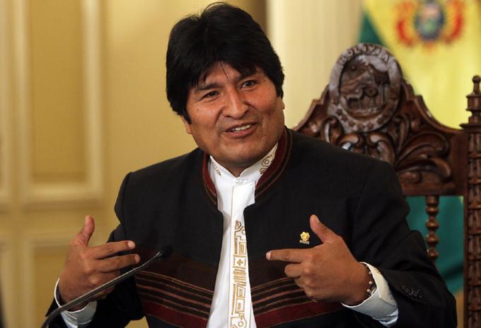 Presidente boliviano cuestiona demanda de Chile por el Silala