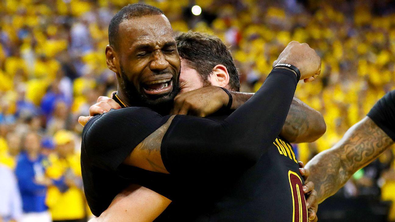 LeBron James y los Cavaliers completan el milagro