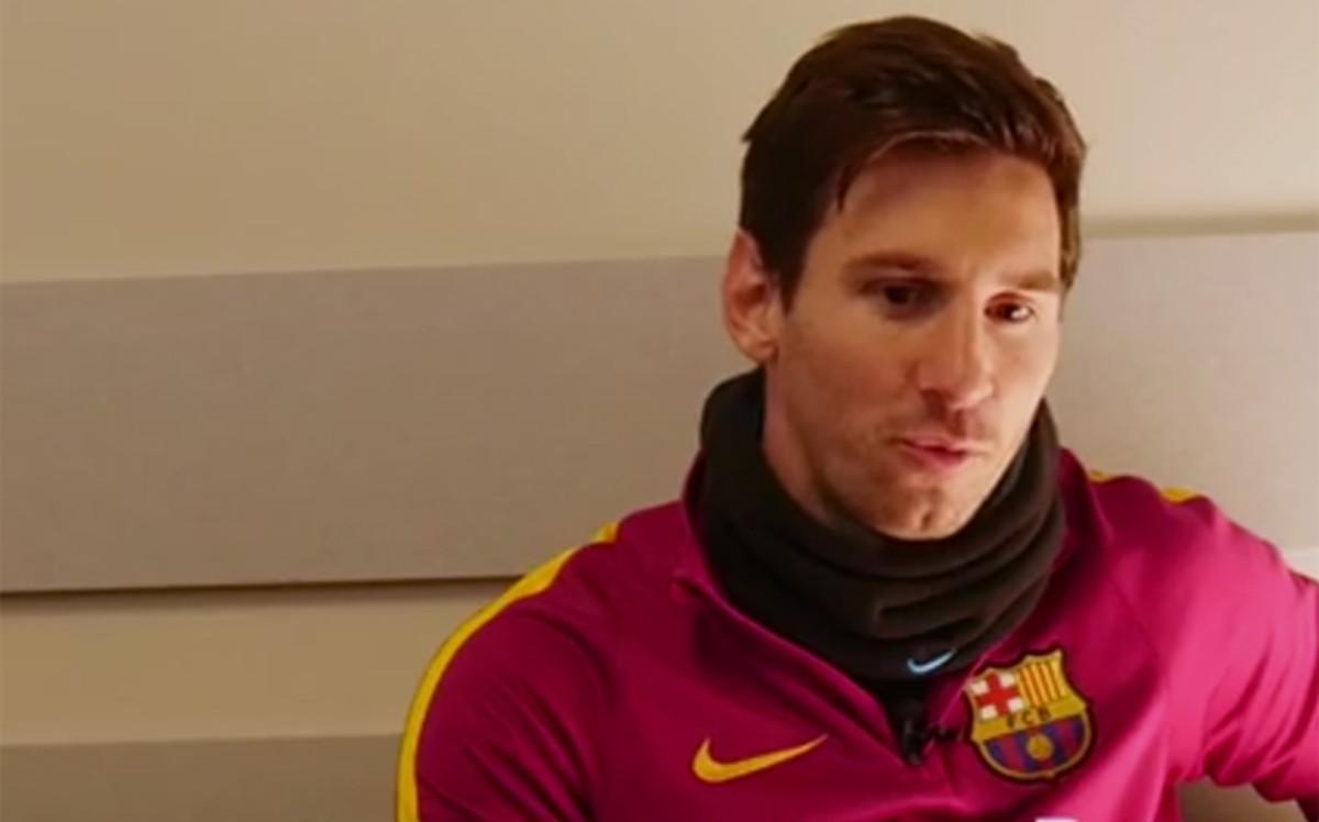 "Messi: ""Me da vergüenza que Neymar me diga a la cara que es fan mío"""
