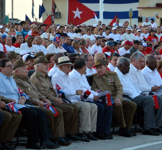 Acto central por el Día de la Rebeldía Nacional (en Vivo)