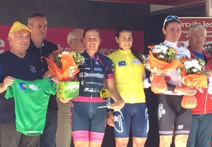 Granmense Arlenis Sierra ganó Vuelta Ciclística a Bretaña