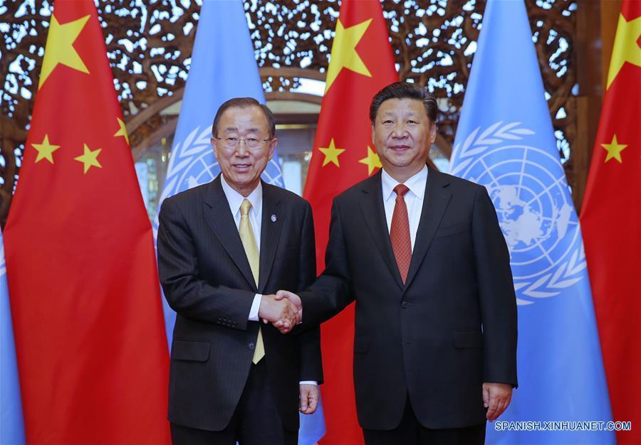 China pide a ONU ampliar cooperación durante visita de Ban