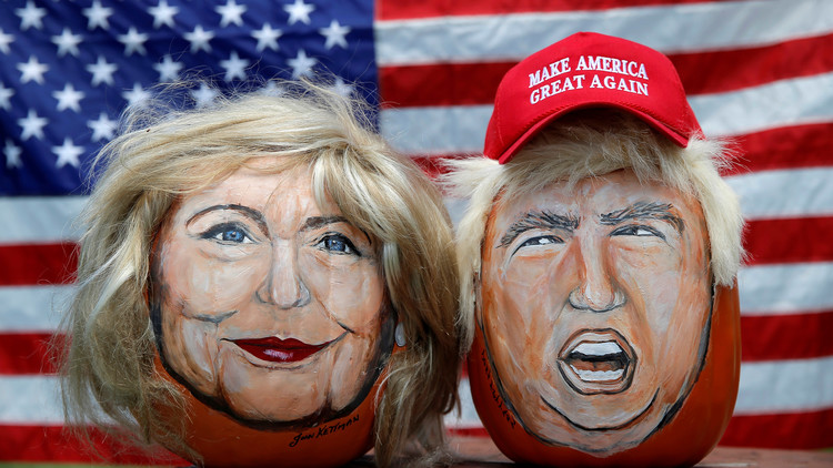 Clinton y Trump