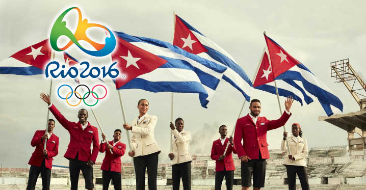 Cuba, Juegos Olímpicos Río 2016