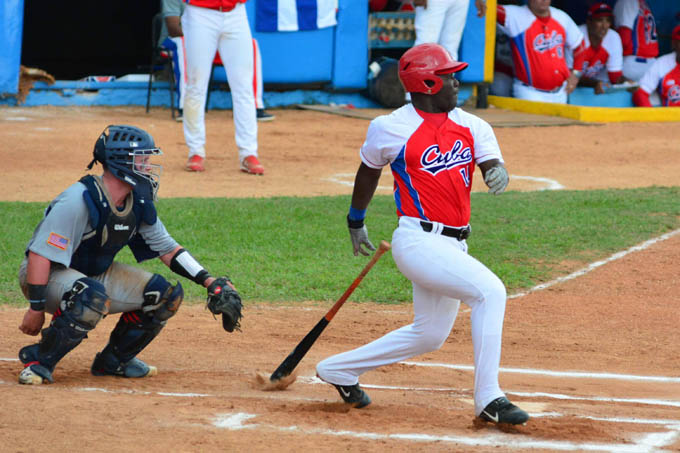 Gana Cuba primer juego de Tope con Estados Unidos