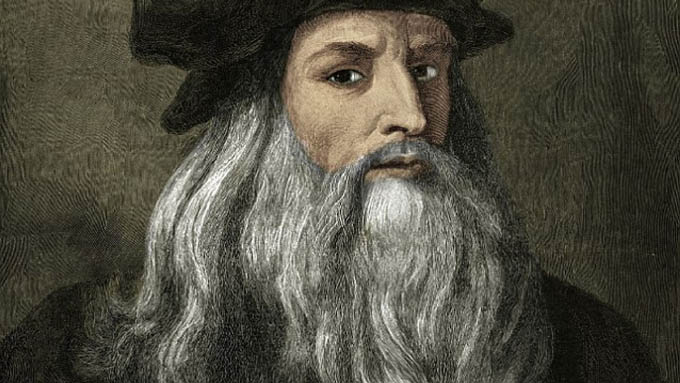 Gran descubrimiento físico en garabatos decodificados de Da Vinci