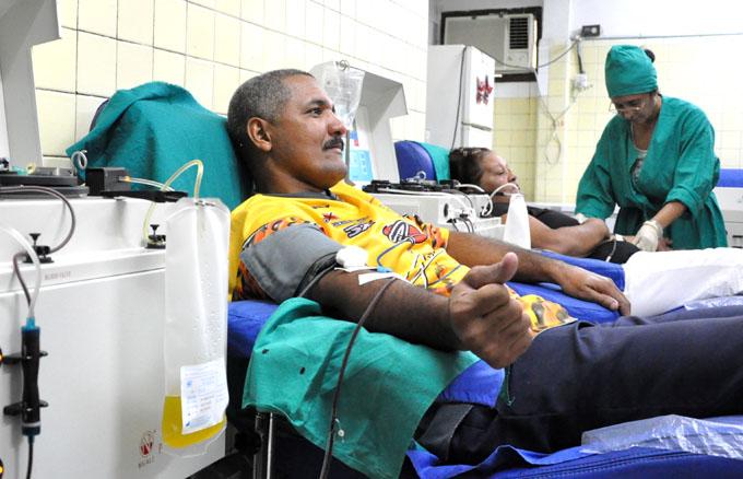 Granma sede nacional del inicio de Jornada de donaciones de sangre
