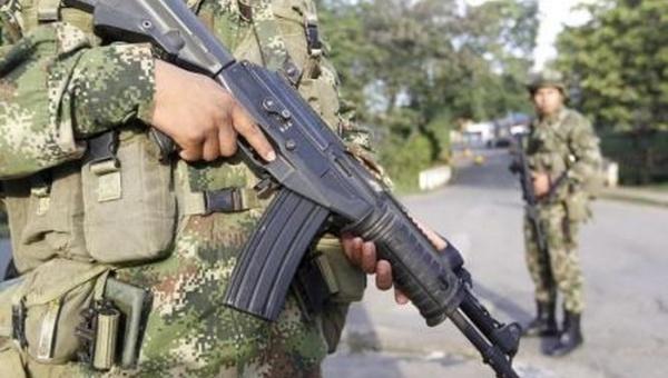 Miembros de las FARC-EP heridos por el Ejército colombiano