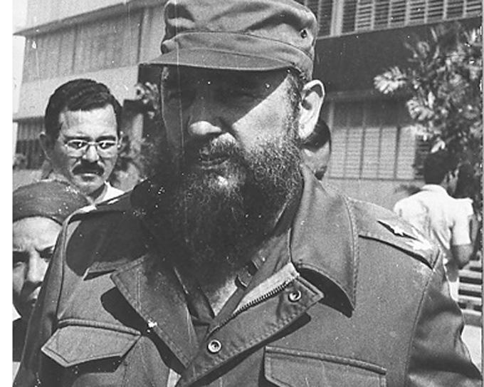 Fidel en Granma, 35 años de una visita