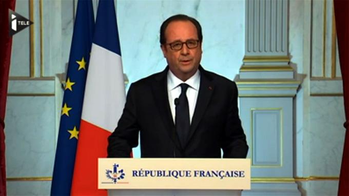 François Hollande, Francia