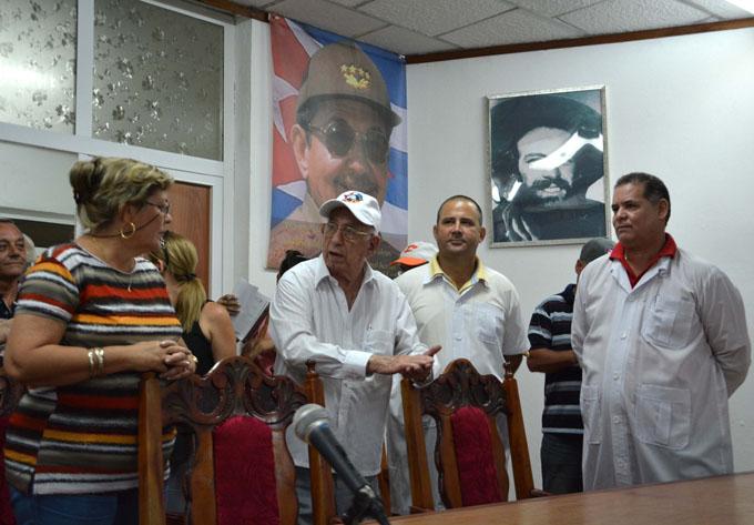Exhorta Machado Ventura a ser eficientes y a cuidar lo alcanzado