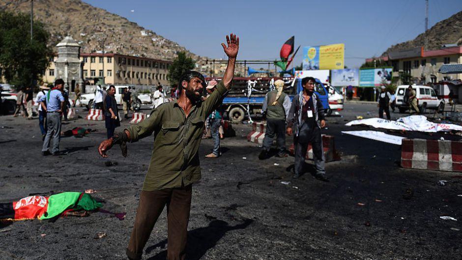 Kabul, ataque terrorista