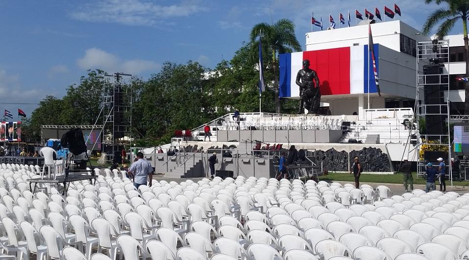 """Lista Plaza de la Revolución espirituana para acto por el """"26"""""""
