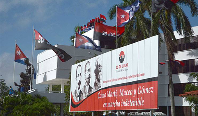 Este martes, en Sancti Spíritus, acto central por el Día de la Rebeldía Nacional