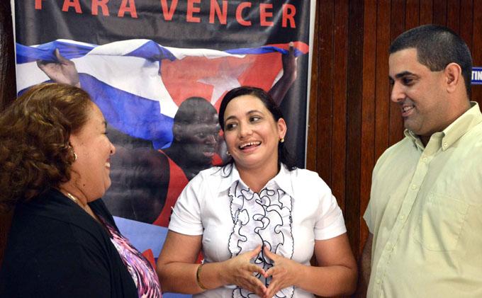 Electa Susely Morfa González, primera secretaria de la UJC
