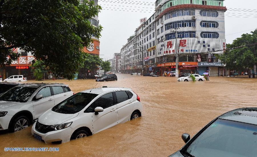 Serios daños en este de China por tifón Nepartak