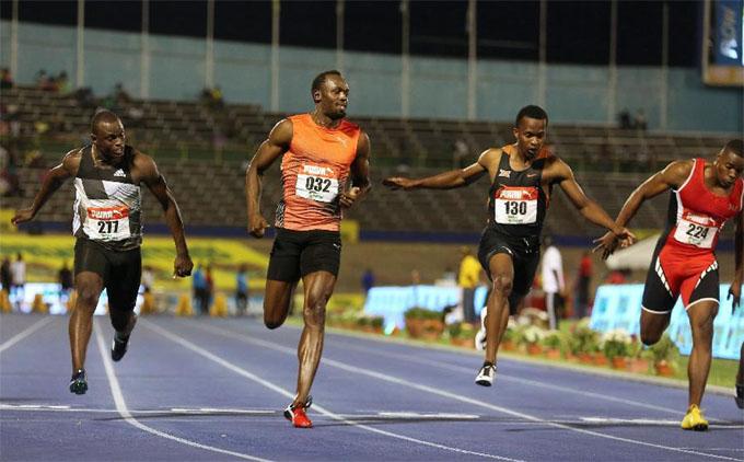 Usain Bolt se lesiona a un mes de los Juegos