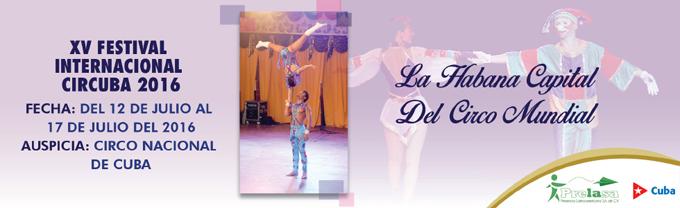 Comienza hoy Festival de Circo de Verano Circuba 2016