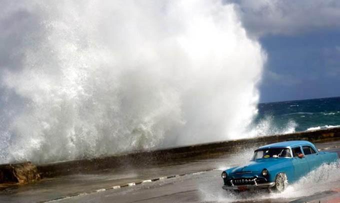 elevación del mar Cuba