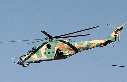El Estado Islámico derriba un Mi-25 en Siria, mueren los dos pilotos rusos